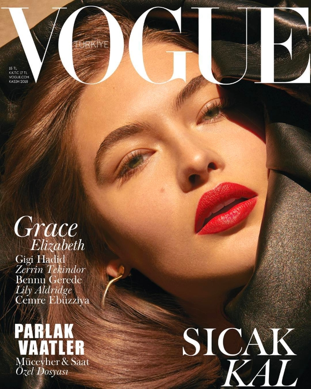 Vogue Turkey November 2018 : Grace Elizabeth by An Le