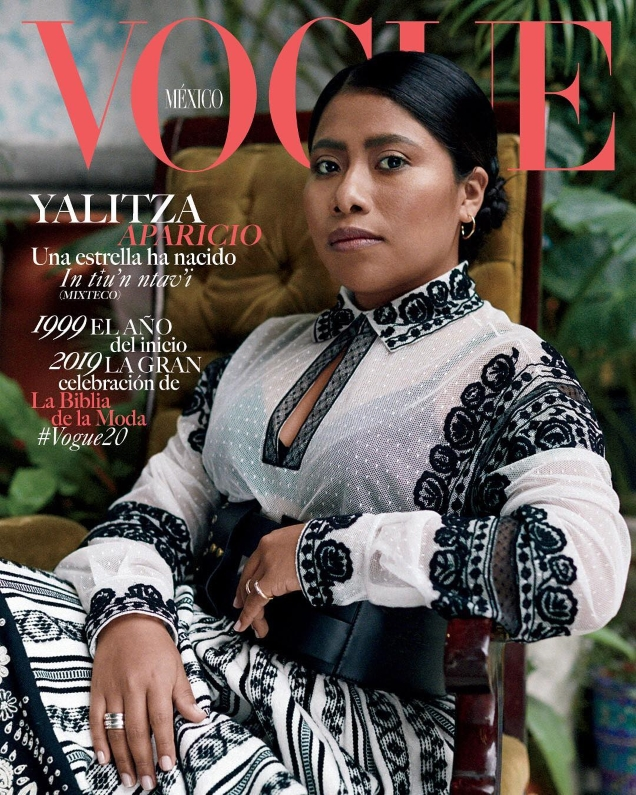 Vogue Mexico January 2019 : Yalitza Aparicio by Santiago and Mauricio