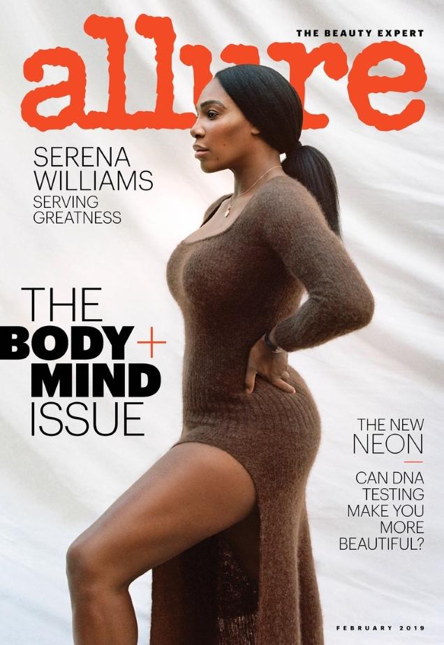Allure February 2019 : Serena Williams by Tanya & Zhenya Posternak