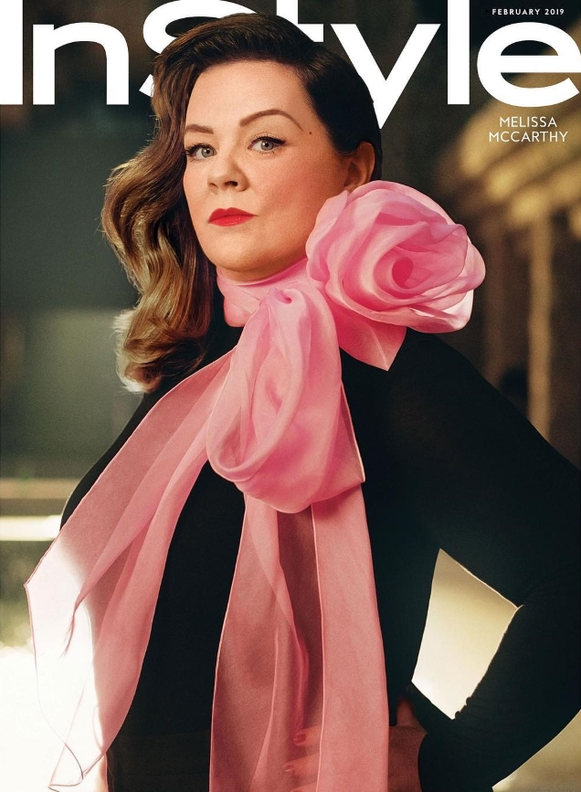 US InStyle February 2019 : Melissa McCarthy by Robbie Fimmano