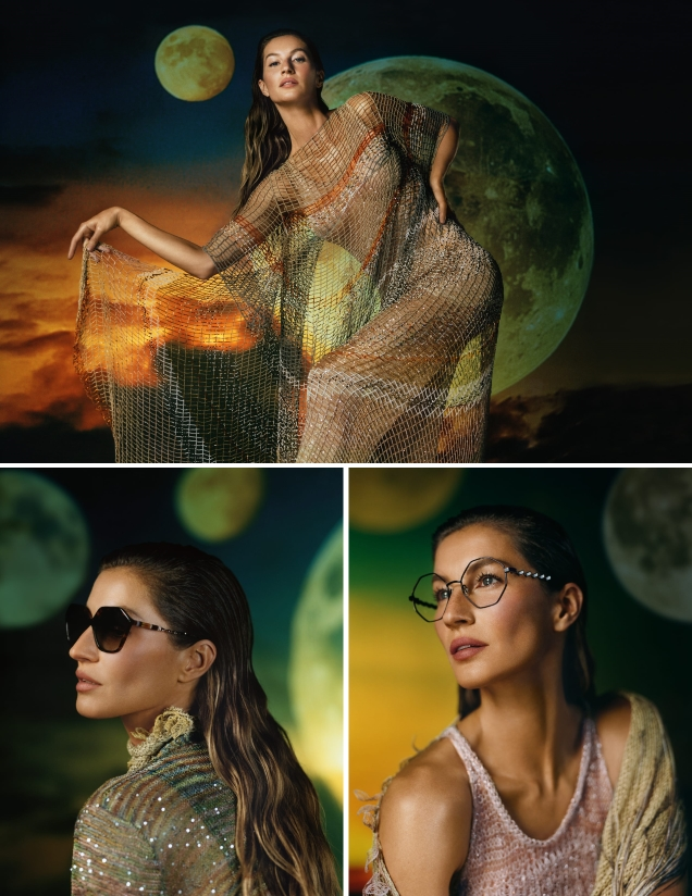 Missoni S/S 2019 : Gisele Bundchen & Tamino by Harley Weir