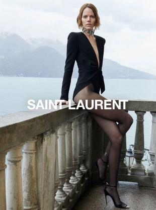 Saint Laurent Summer 2019 : Freja Beha Erichsen & Mica Arganaraz by Juergen Teller