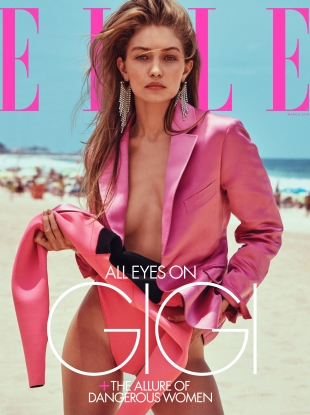 US Elle March 2019 : Gigi Hadid by Chris Colls