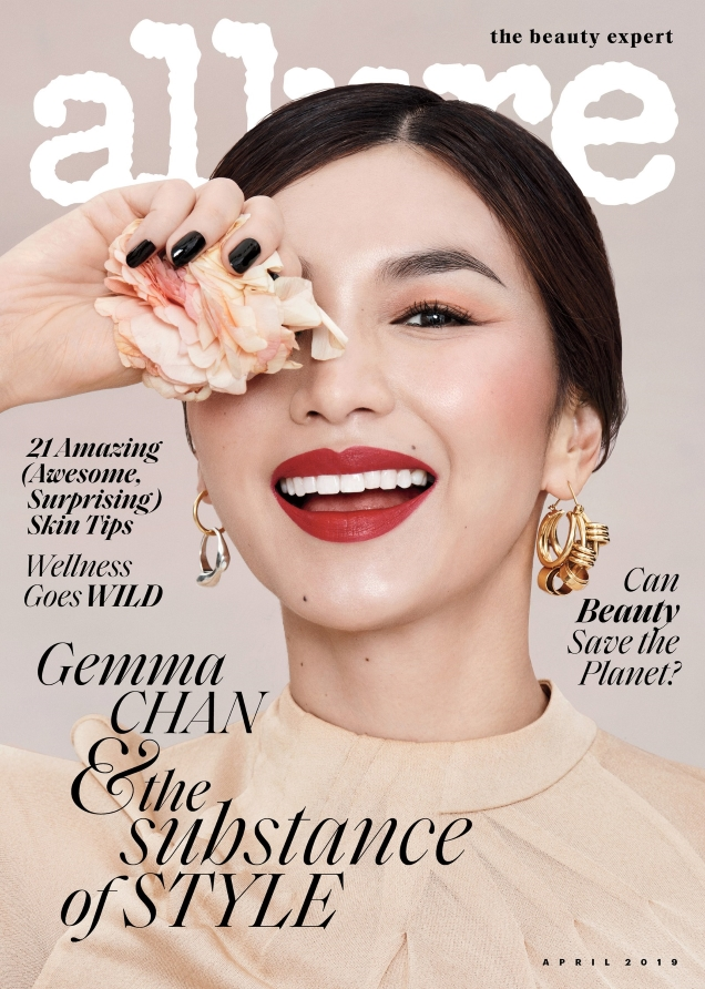 Allure April 2019 : Gemma Chan by Paola Kudacki