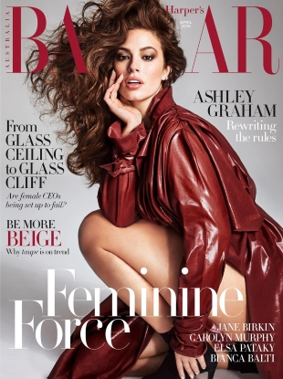 Harper's Bazaar Australia April 2019 : Ashley Graham by Nino Munoz