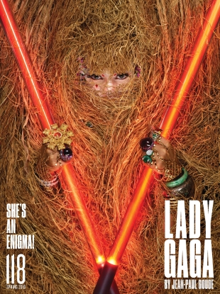 V Magazine #118 Spring 2019 : Lady Gaga by Jean-Paul Goude