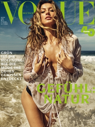 Vogue Germany April 2019 : Gisele Bündchen by Luigi & Iango