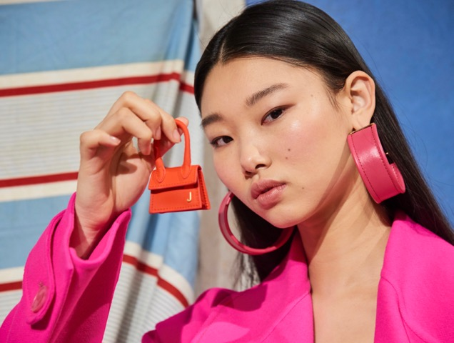Tiny bags at Jacquemus Fall 2019.