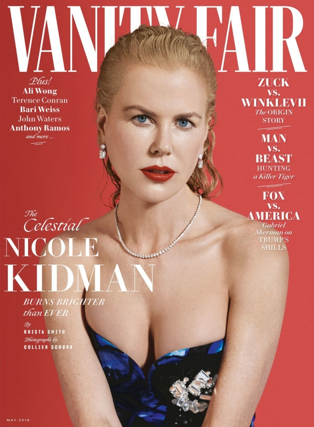 Vanity Fair May 2019 : Nicole Kidman by Collier Schorr