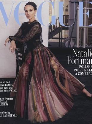 Vogue Australia April 2019 : Natalie Portman by Emma Summerton