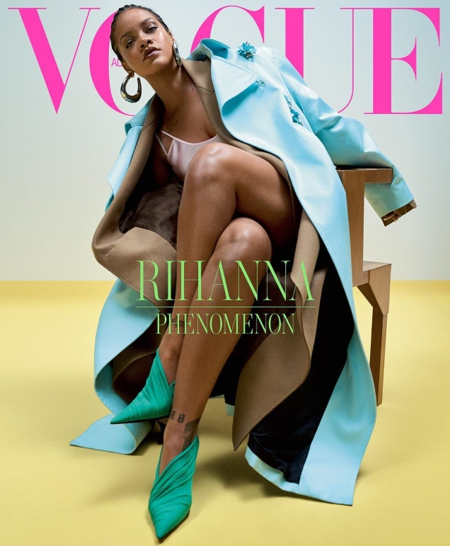 Vogue Australia May 2019 : Rihanna by Josh Olins