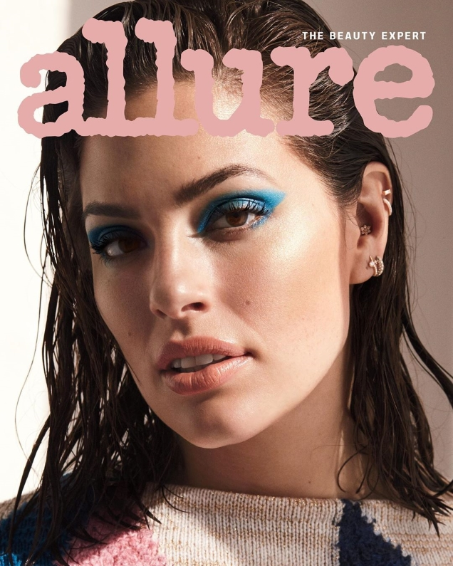 Allure July 2019 : Ashley Graham by Vanina Sorrenti