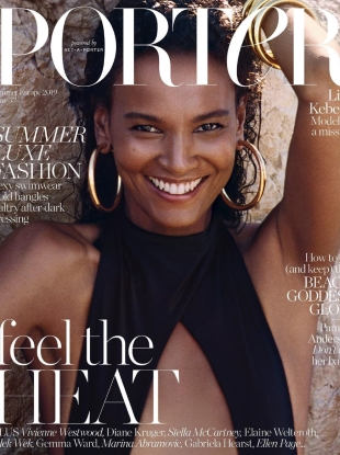 Porter #33 Summer Escape 2019 : Liya Kebede by Cass Bird