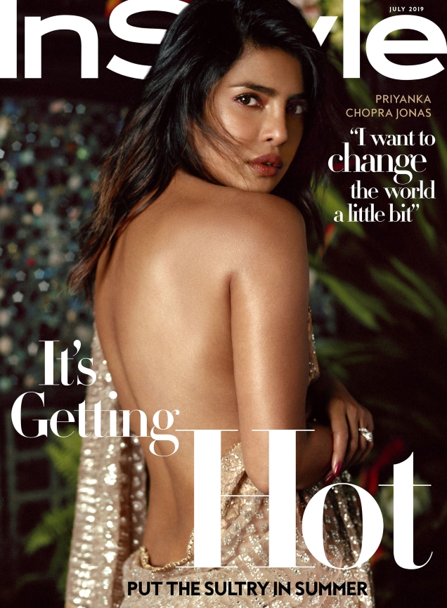 US InStyle July 2019 : Priyanka Chopra by Robbie Fimmano