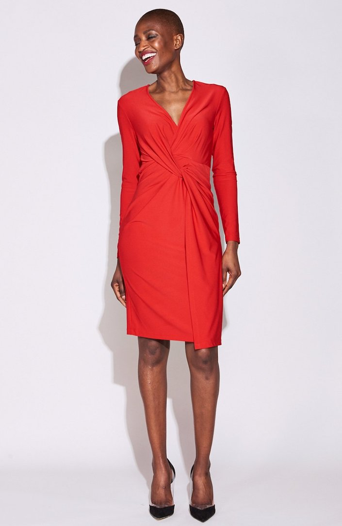 Serena Twist Front Dress.