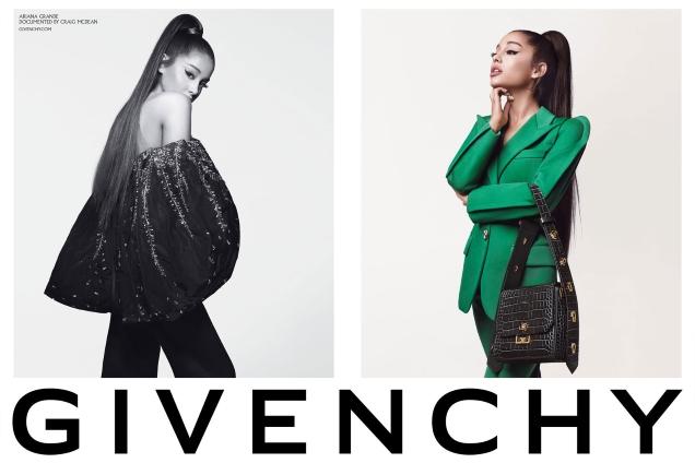 Givenchy F/W 2019.20 : Ariana Grande by Craig McDean