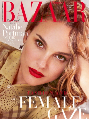 UK Harper's Bazaar September 2019 : Natalie Portman by Pamela Hanson