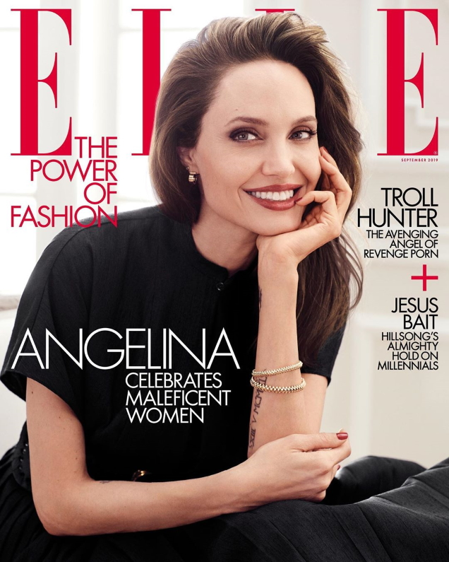 US Elle September 2019 : Angelina Jolie by Alexi Lubomirski