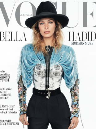 Vogue Australia November 2019 : Bella Hadid by Daniel Jackson
