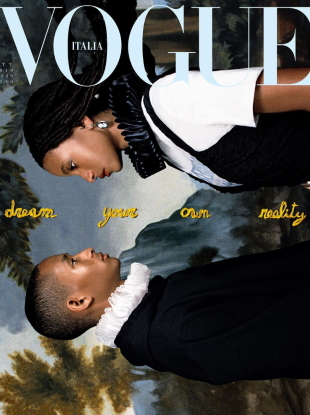 Vogue Italia October 2019 : Jaden & Willow Smith by Hugo Comte