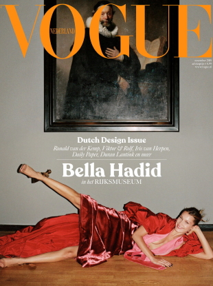 Vogue Netherlands November 2019 : Bella Hadid by Sean Thomas