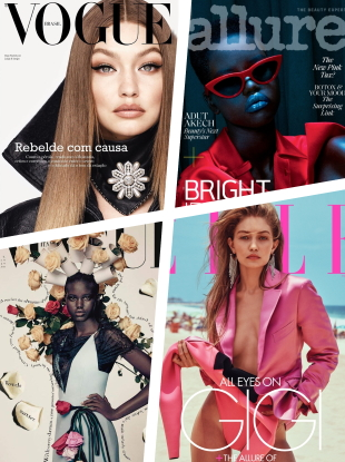 Gigi Hadid and Adut Akech Are 2019's Top Cover Models of the Year!