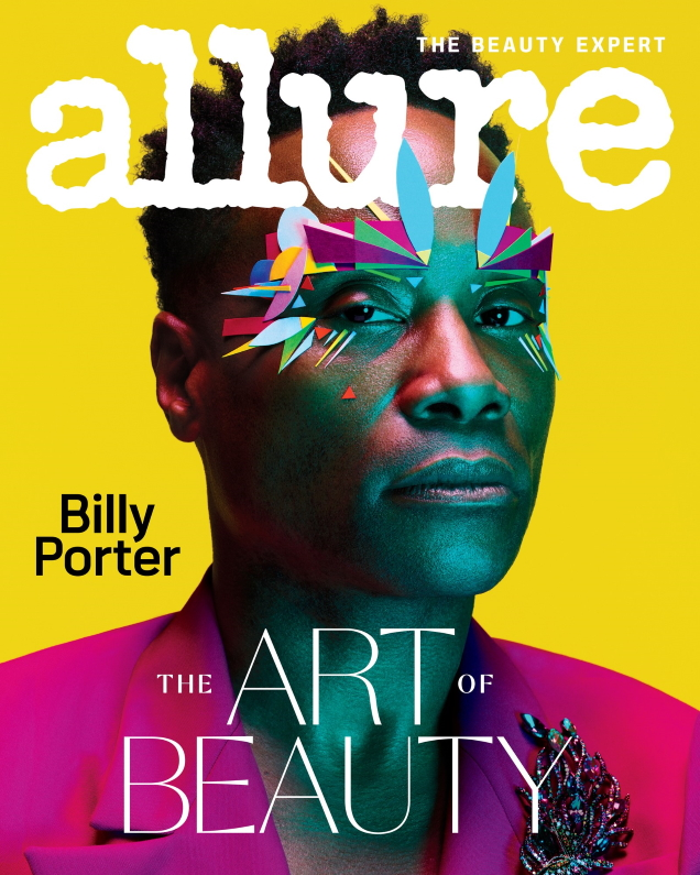 Allure February 2020 : Billy Porter by Ben Hassett