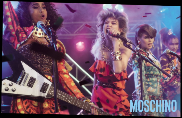 Moschino S/S 2020 : Gigi, Bella, Kaia, Imaan, Adut & Tyra by Steven Meisel