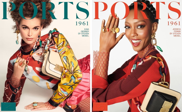 Ports 1961 S/S 2020 : Kaia, Jessica, Mona, Abby & Lys by Steven Meisel