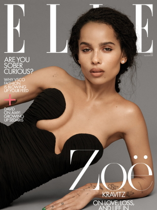 US Elle February 2020 : Zoë Kravitz by Paolo Kudacki