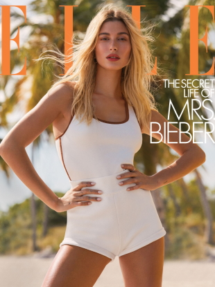 US Elle March 2020 : Hailey Bieber by Zoey Grossman