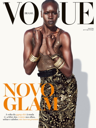 Vogue Brazil March 2020 : Alek Wek by Luigi & Iango
