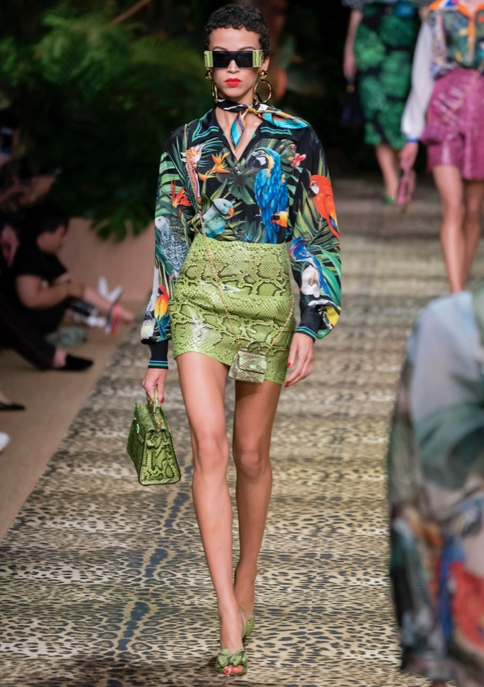 tropical printed pieces