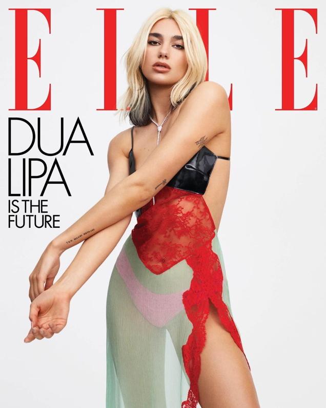 US Elle May 2020 : Dua Lipa by Zoey Grossman
