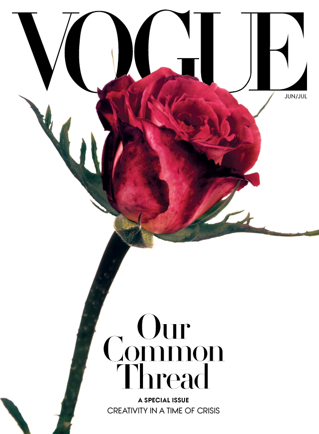 US Vogue June/July 2020 by Irving Penn