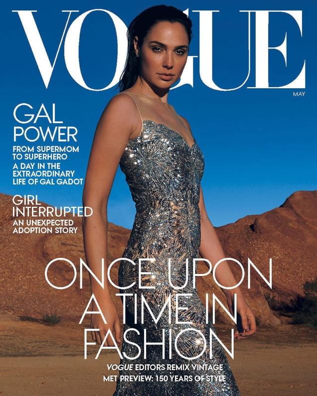 US Vogue May 2020 : Gal Gadot by Annie Leibovitz