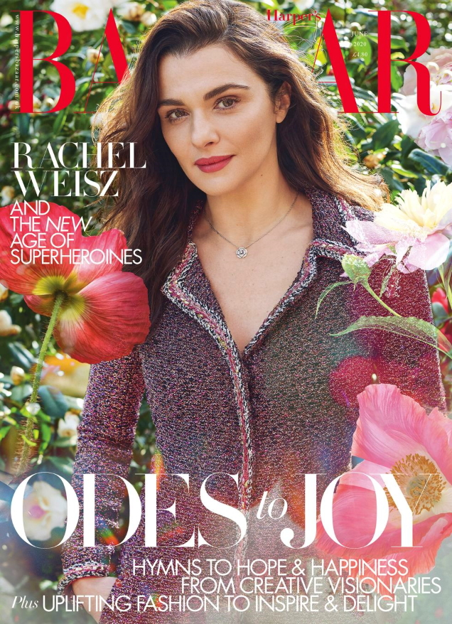 UK Harper's Bazaar June 2020 : Rachel Weisz by Pamela Hanson