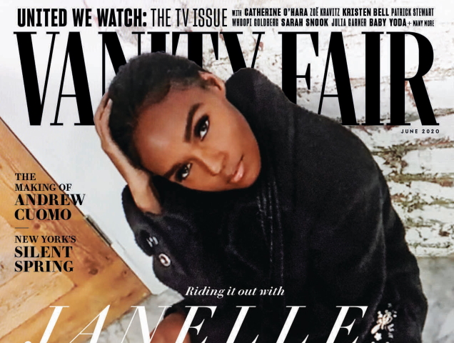 Janelle Monáe Gets Photographed via Zoom for Vanity Fair's June 2020 Cover