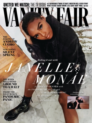 Vanity Fair June 2020 : Janelle Monáe by Collier Schorr