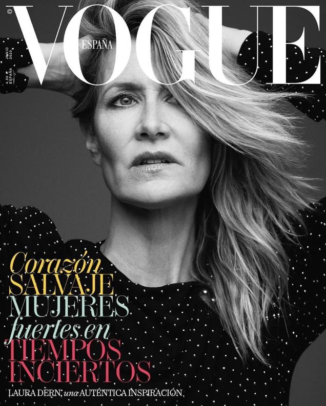 Vogue España June 2020 : Laura Dern by Alexi Lubomirski