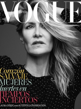 Vogue España June 2020 : Laura Dern by Alexi Lubomirski