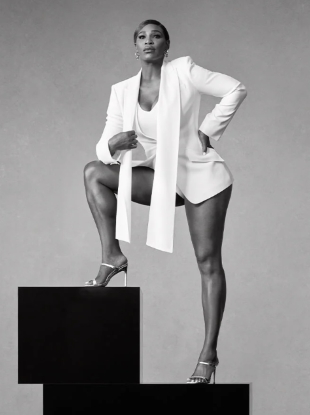 Stuart Weitzman S/S 2020 : Serena Williams by Ethan James Green