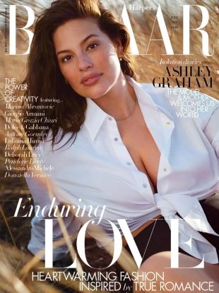 UK Harper's Bazaar July 2020 : Ashley Graham by Justin Ervin