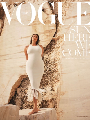 Vogue Greece June 2020 : Candice Huffine by Nico Bustos