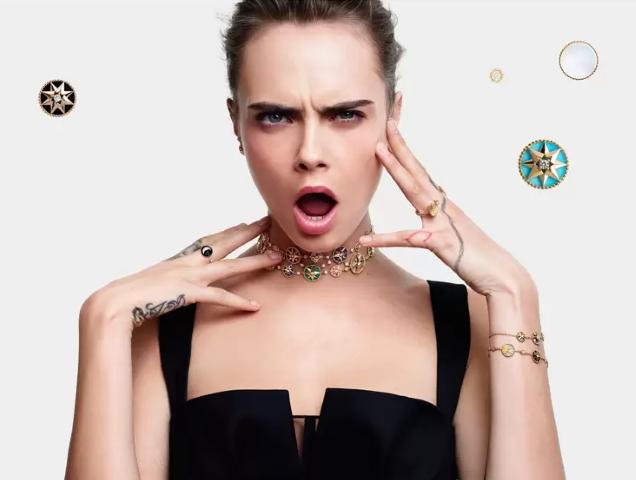 Cara Delevingne Dior Joaillerie 2020 Ad Campaign Thefashionspot