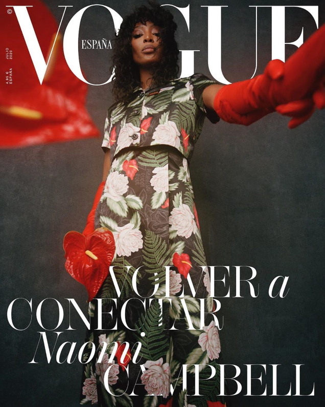 Vogue España July 2020 : Naomi Campbell by Nadine Ijewere