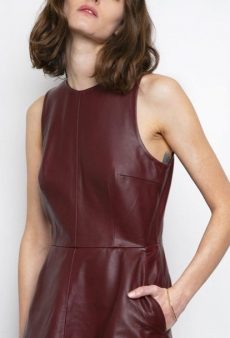Leather Dresses Are the Secret to Trans-Seasonal Dressing Success