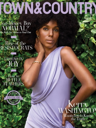 Town & Country September 2020 : Kerry Washington by AB+DM
