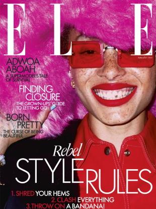 UK Elle September 2020 : Adwoa Aboah by Liz Johnson Artur