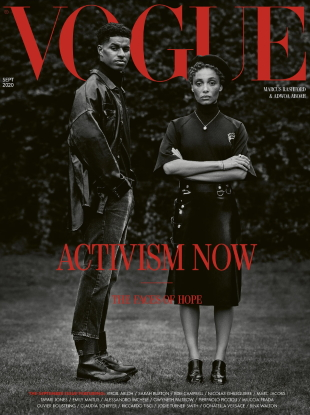 UK Vogue September 2020 : The Faces of Hope